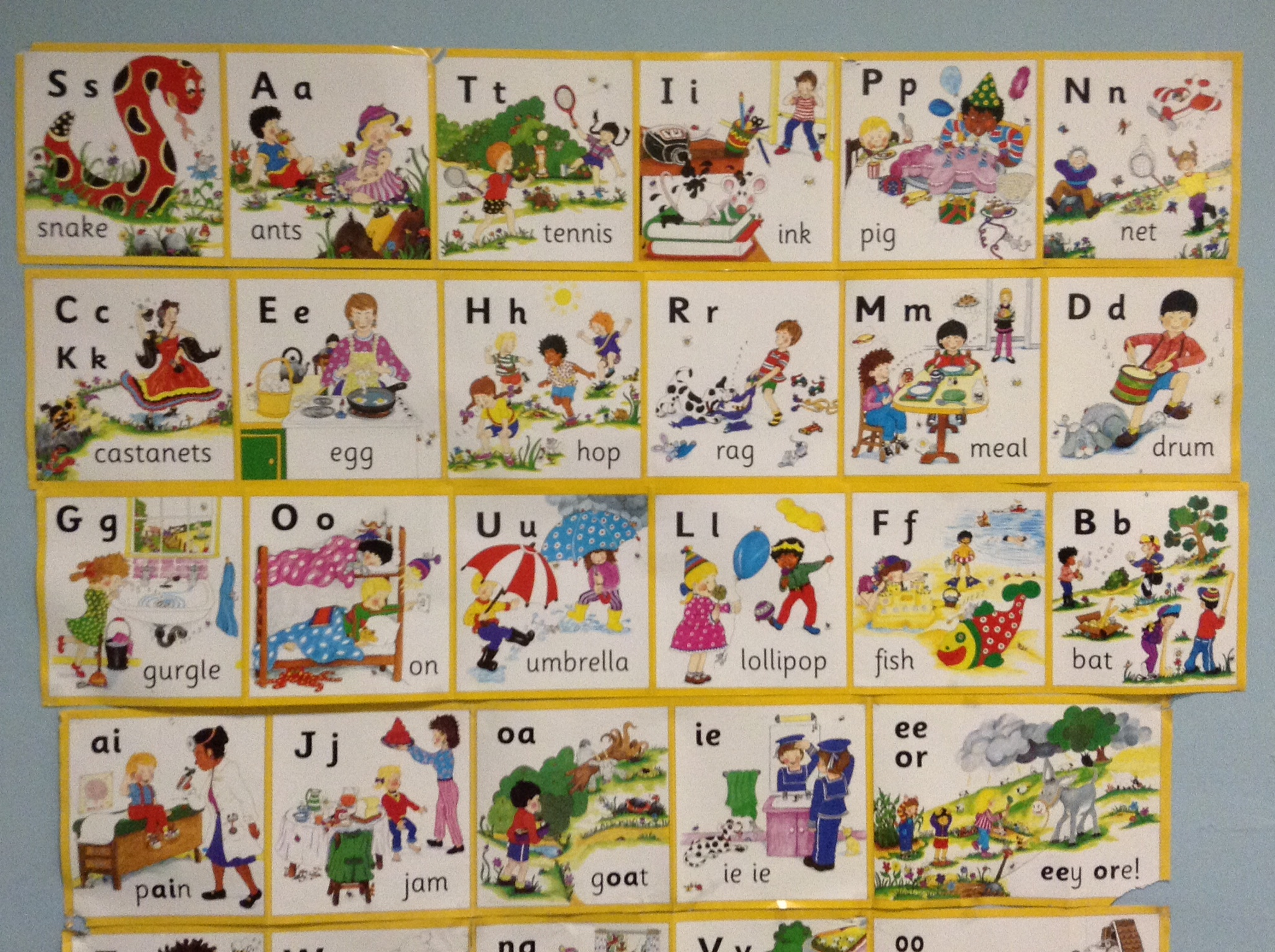 Jolly Phonics  Letter Blends