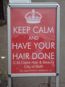 Have your hair done